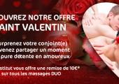 Offre spéciale Saint-Valentin !