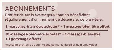 Abonnement Massage Amiens