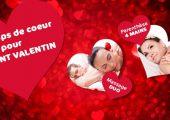 OFFRE TERMINÉE :  Nos coups coeur pour la saint Valentin