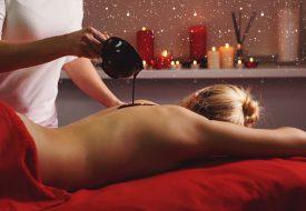Instants gourmands de Noël : Massage à l'huile de cacao