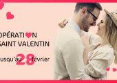 OFFRE TERMINÉE : Opération Saint Valentin, 10 € offerts sur nos…