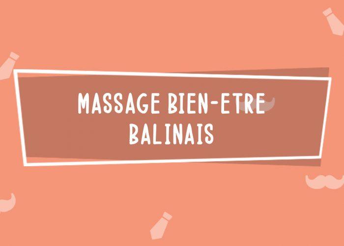 Massage Bien-être Balinais   Fête des Pères